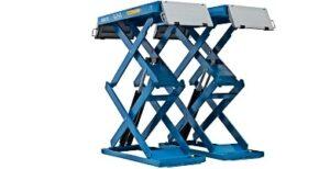 Elevadores de tijera para coche moto furgoneta trailer